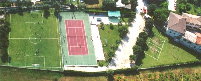 aerial photo of Sport Centre