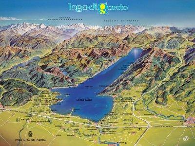La nuova pista ciclabile sul lago di garda la più bella d europa