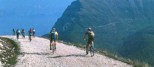 Per mountain-bike op Monte Baldo